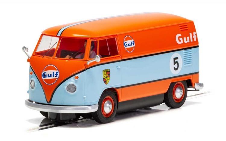 Scalextric - Volkswagen Panel Van Gulf