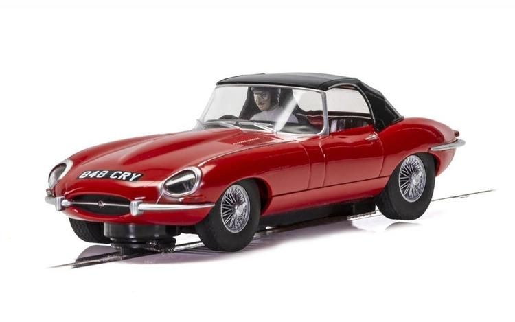 Scalextric - Jaguar E-Type - Red 848CRY