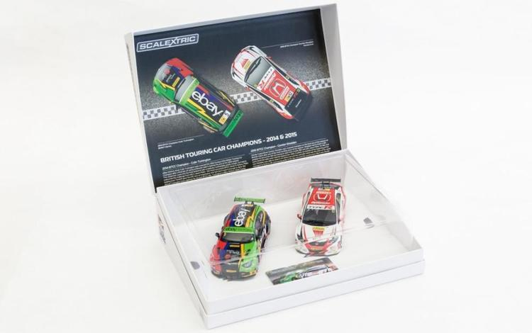 Scalextric - BTCC Champions Twin Pack - BMW 125 Series 1 & Honda Civic (display box)
