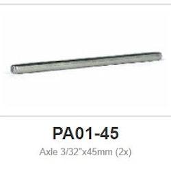 """Slot.it - Axle 45 mm - 2,38mm - 3/32"""" (x2)"""