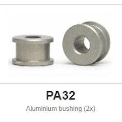 """Slot.it - Bushing Aluminium - for 2,38 (3/32"""") axle (x2)"""