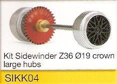 Slot.it - Starter Kit 04 - Sidewinder Z36 Ø19, 17.3x9.75mm