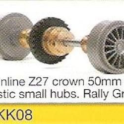 Slot.it - Starter Kit 08 - Inline Z27, 15.8x8.2mm plastic wheels