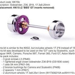Slot.it - Sidewinder, Z36, Ø19, 17.3x8.25mm (Scalextric GT)