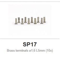 Slot.it - Brass terminals ø1,6 L5mm (10x)