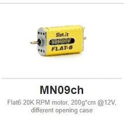 Slot.it - Flat6 20K RPM motor, 200g*cm @12V