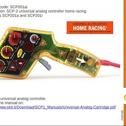 Slot.it - Electronic Controller for Home Racing