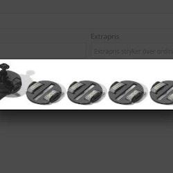 Scalextric - Guide (1x) + Braid plates (4x)