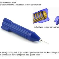Slot.it - Adjustable torque hex M2 screwdriver