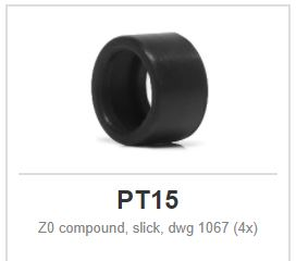 Slot.it - Z0 compound, slick, dwg 1067 (4x)