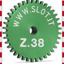 Slot.it - Sidewinder crown gear 38t, diameter 19 mm