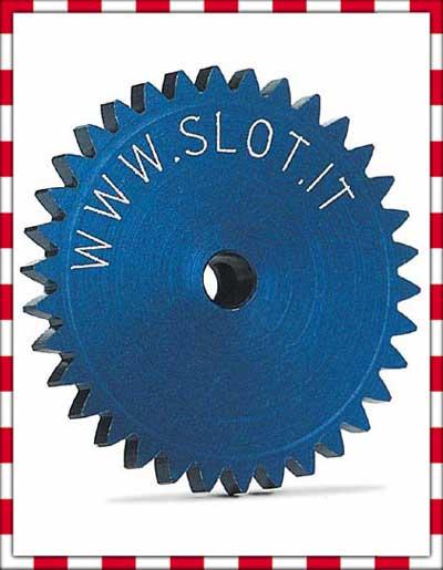 Slot.it - Sidewinder crown gear 34t, diameter 19 mm
