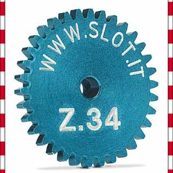 Slot.it - Sidewinder crown gear 34t, diameter 18 mm