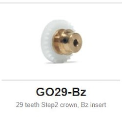 Slot.it - Inline - 29 teeth Step2 crown, Bz insert