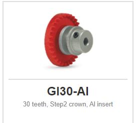 Slot.it - Inline - 30 teeth Step2 crown, Al insert