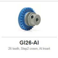 Slot.it - Inline - 26 teeth Step2 crown, Al insert