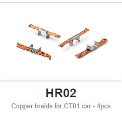 Policar - Copper braids for CT01 car - 4pcs