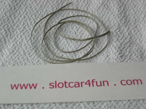 S4F - Strömfläta 1 meter (förtennad kopparfläta)