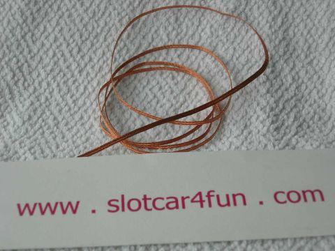 S4F - Strömfläta 1 meter kopparfläta - högsta kvalitet !