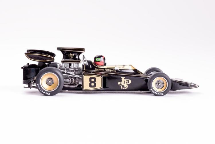 Policar - Lotus 72 - #8 - Monaco GP 1972 (Emerson Fittipaldi)