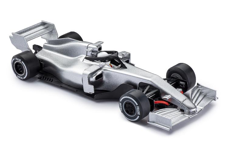 Policar - Monoposto Modern F1 - Silver