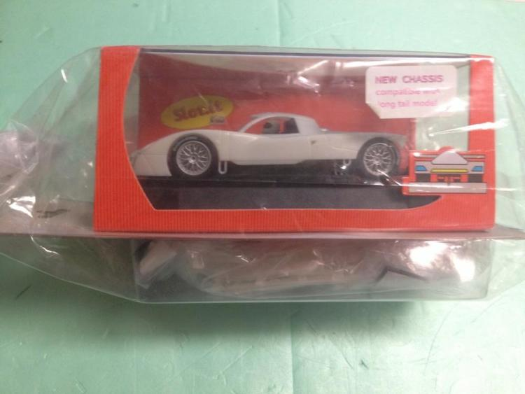Slot.it - Nissan R390 GT1 White Kit