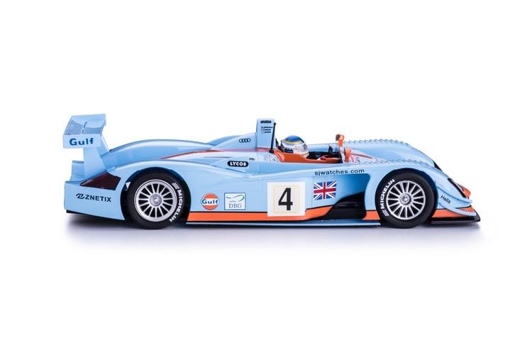 Slot.it - AUDI R8 LMP 2001 - 24h Le Mans / #04 - S. Johansson, T. Coronel, P Lemarié