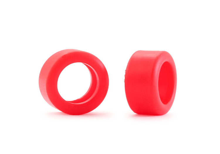 NSR - Special RTR Slick Rear for Classic NSR/SLOT.IT - 19,8x10 - Low Profile - Racing tyres - RED (x4)