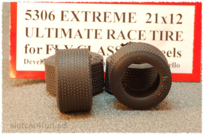 """NSR - CLASSIC EXTREME 21 x 12 only for 17"""" or Fly plastic wheels (x4)"""