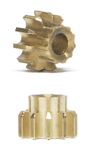 NSR - Pinion 11 Teeth Ø 5,5mm - Inline - Extralight (x2)