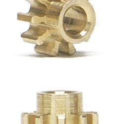 NSR - Pinion 10 Teeth Ø 5,5mm - Inline - Extralight (x2)
