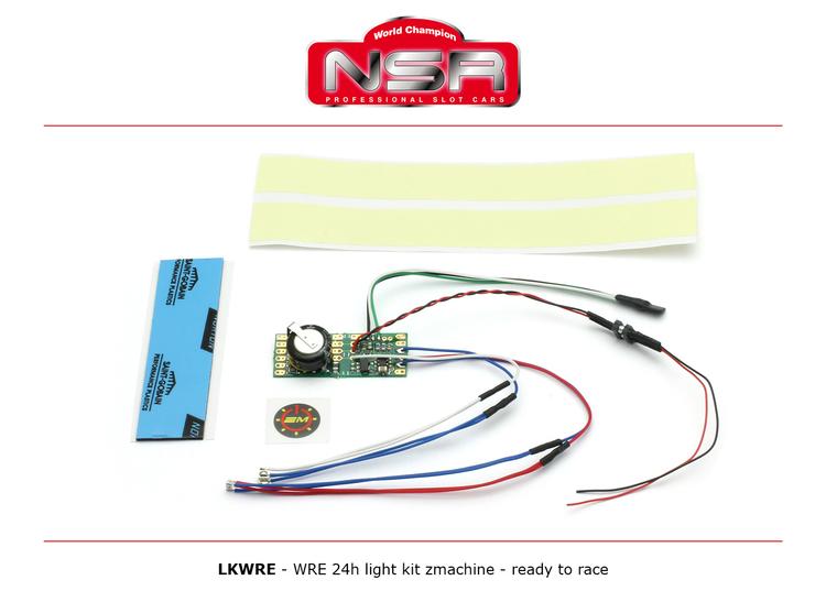 NSR - WRE 24h light kit zmachine - ready to race
