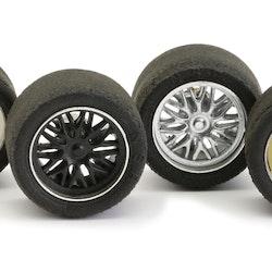 """NSR - BBS Insert for 17"""" diam. wheels WHITE"""
