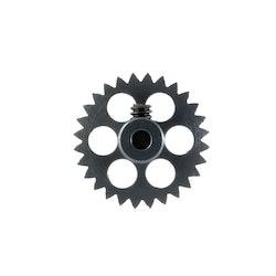 NSR - AW crown gear - 3/32 Alu - 28 Teeth Ø 16mm - Anglewinder 15°