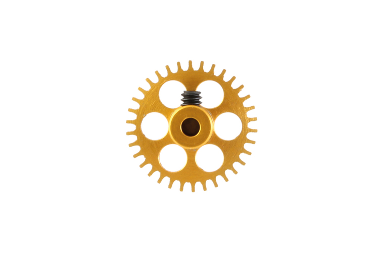 NSR - AW crown gear - 3/32 Alu - 34 Teeth Ø 16mm - Anglewinder 15°