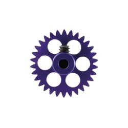 NSR - 3/32 Aluminium Gear - 30 Teeth Ø 17,5mm - Sidewinder - DARK BLUE