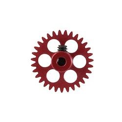 NSR - 3/32 Aluminium Gear - 31 Teeth Ø 17,5mm - Sidewinder - RED