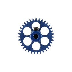 NSR - 3/32 Aluminium Gear - 35 Teeth Ø 17,5mm - Sidewinder - PALE BLUE