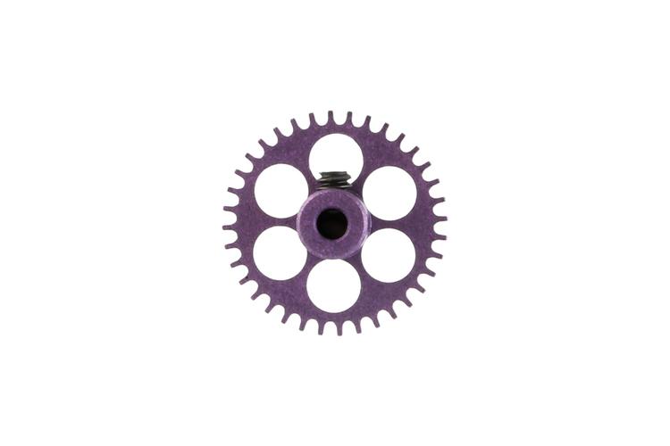 NSR - 3/32 Aluminium Gear - 36 Teeth Ø 17,5mm - Sidewinder - PURPLE