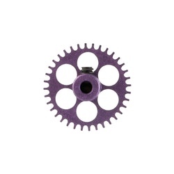 NSR - 3/32 Aluminium Gear - 36 Teeth Ø 17,5mm - Sidewinder - PURPLE