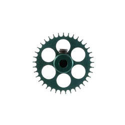 NSR - 3/32 Aluminium Gear - 37 Teeth Ø 17,5mm - Sidewinder - DARK GREEN