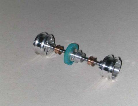 """NSR - REAR KIT w/ 16"""" DIAMETER WHEELS type INLINE CARS"""