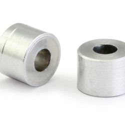 "NSR - Aluminium Spacers - 3/32"" axle aluminium spacers Code: 4840 - 0,160"" / 4 mm. (10 pcs)"