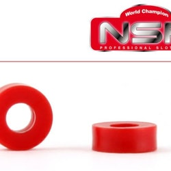 "NSR - Plastic Spacers - 2mm  - 3/32"" axle plastic spacers (10 pcs)"