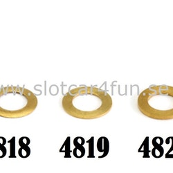 "NSR - PICK-UP GUIDE SPACERS .020""/ 0,50 mm BRASS (10pcs)"