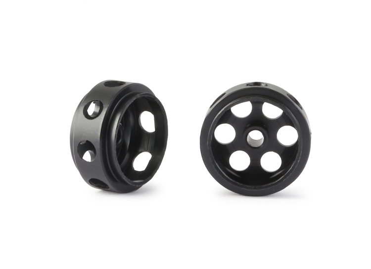 NSR - 3/32 CNC PLASTIC ULTRALIGHT WHEELS - Front Ø 16mm - only 0.3g (2x)
