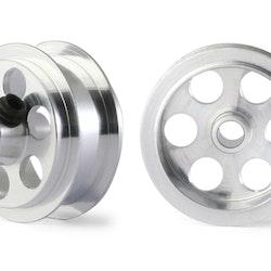 "NSR - Alu wheels 3/32"" - Rear Ø 16x8mm - Ultralight & very accurate (x2)"