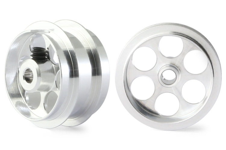 "NSR - Alu wheels 3/32"" - Rear Ø 17x8mm - Ultralight & very accurate (x2)"