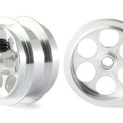 "NSR - Alu wheels 3/32"" - Rear Ø 17x8mm - Ultralight & very accurate (x2)"