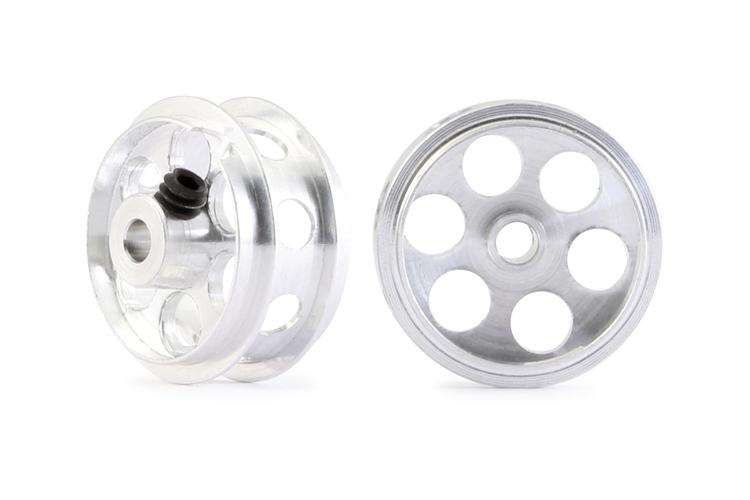 "NSR - Alu wheels 3/32"" - Rear Ø 16,5 x 8 mm - Ultralight & very accurate (x2)"